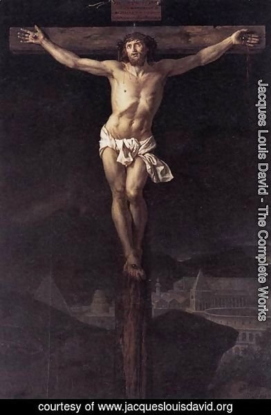 Jacques Louis David - Christ on the Cross
