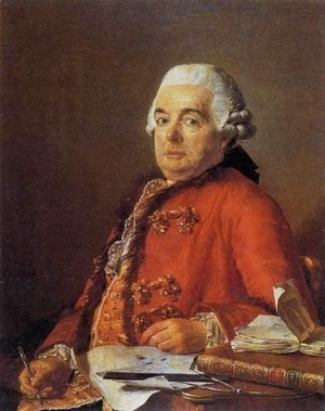 Jacques Louis David - Portrait of Jacques-François Desmaisons