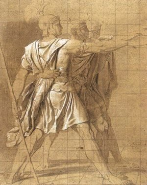 Jacques Louis David - The Three Horatii Brothers