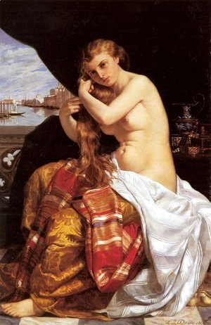 Jacques Louis David - Venitienne A Sa Toilette