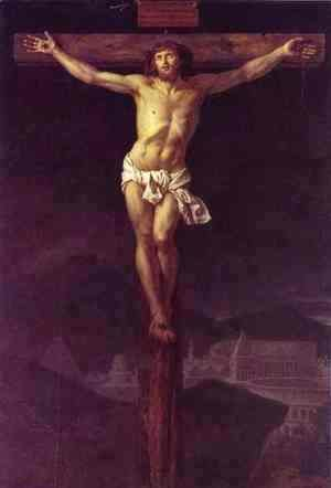 Jacques Louis David - Christ on the Cross 2