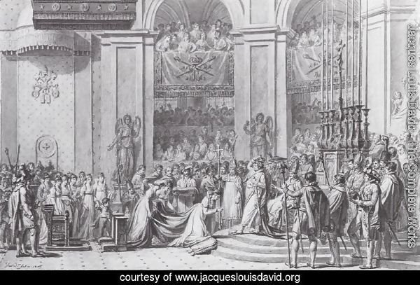 Study for the Coronation