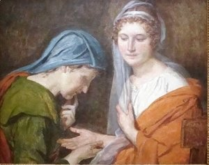 Jacques Louis David - The Fortune Teller