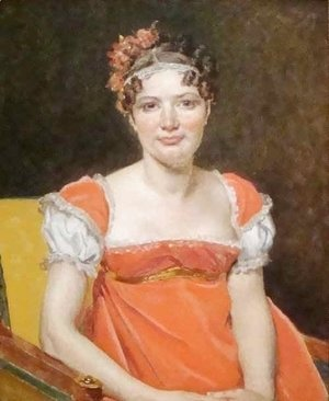 Jacques Louis David - Laure Emile Felicite David Baronne Meunier