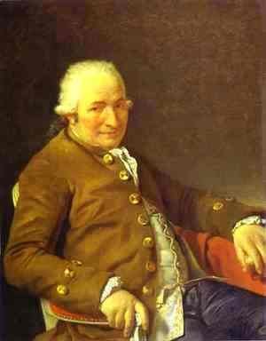 Portrait Of Charles Pierre PeCoul Contractor Of Royal Buildings