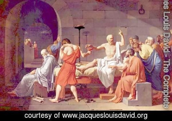 Jacques Louis David - Death of Socrates
