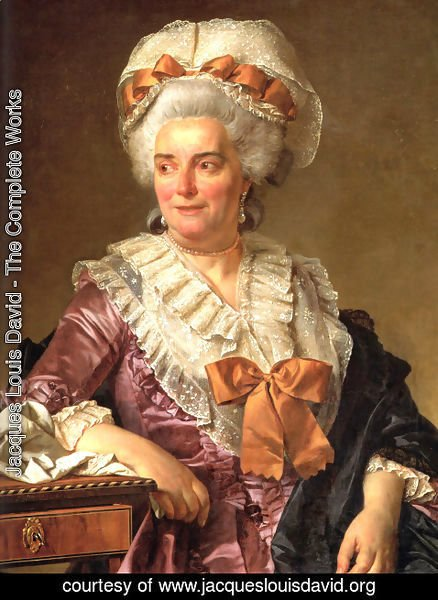 Jacques Louis David - Portrait of Madame Charles-Pierre Pecoul, nee Potain, mother-in-law of the artist