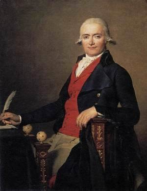 Jacques Louis David - Gaspard Meyer or The Man in the Red Waistcoat