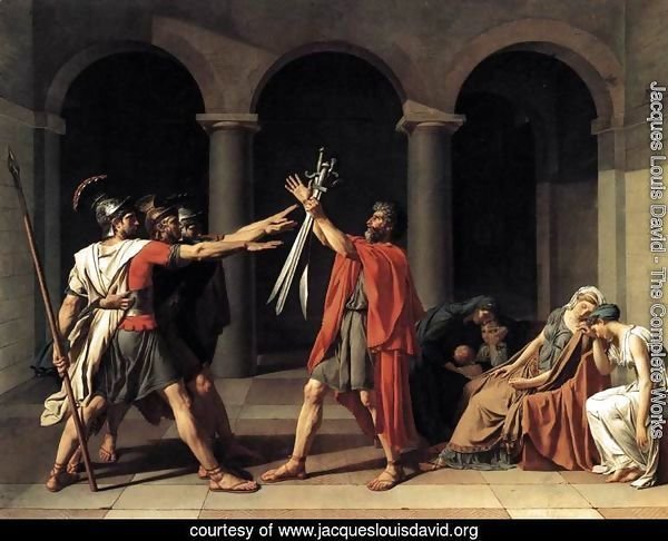 The Oath of the Horatii 1784