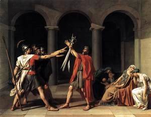Jacques Louis David - The Oath of the Horatii 1784