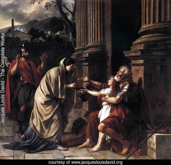 Belisarius Receiving Alms 1781