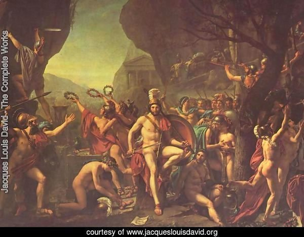 Leonidas at Thermopylae 1814