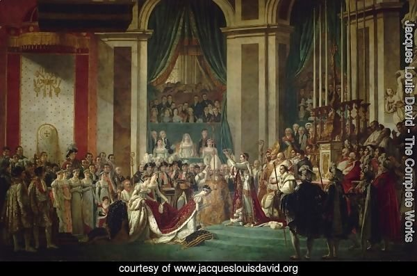 Consecration of the Emperor Napoleon I and Coronation of the Empress Josephine 1805-07