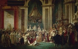 Jacques Louis David - Consecration of the Emperor Napoleon I and Coronation of the Empress Josephine 1805-07