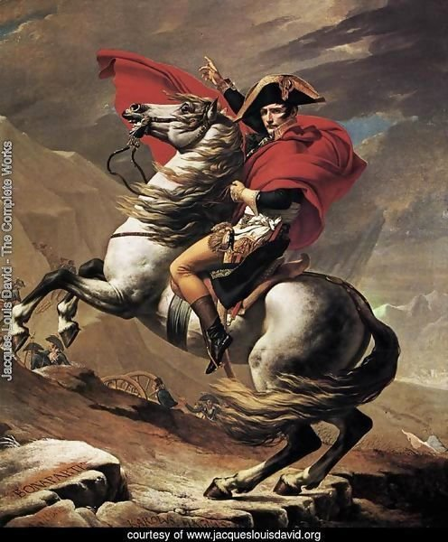 Napoleon at the St. Bernard Pass 1801