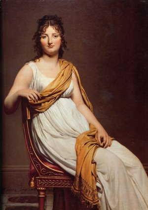 Jacques Louis David - Madame Raymond de Verninac 1798-99