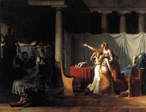 Jacques Louis David - The Lictors Returning to Brutus the Bodies of his Sons 1789