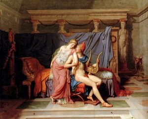 Jacques Louis David - The Loves of Paris and Helen 1788