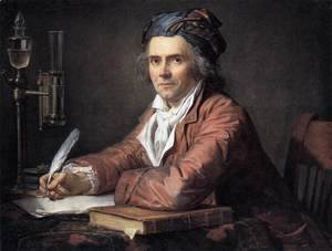Jacques Louis David - Portrait of Doctor Alphonse Leroy 1783