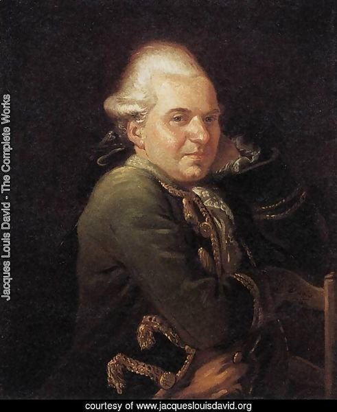 Portrait of François Buron 1769