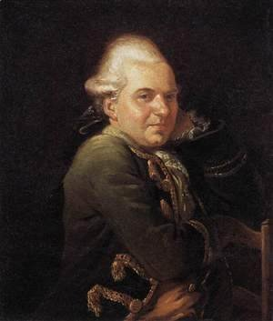 Jacques Louis David - Portrait of François Buron 1769