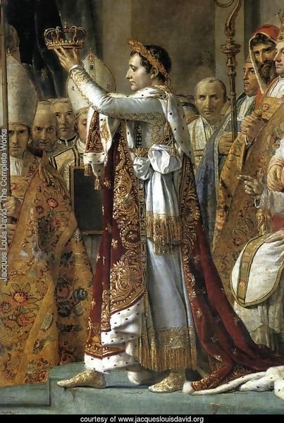 Consecration of the Emperor Napoleon I (detail 1) 1805-07