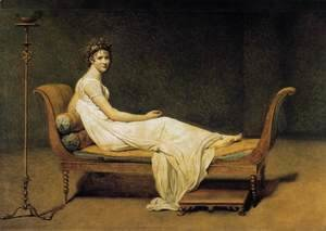 Jacques Louis David - Madame Récamier 1800