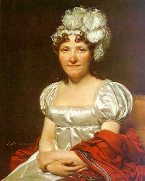 Jacques Louis David - Portrait of Charlotte David (Madame David) 1813