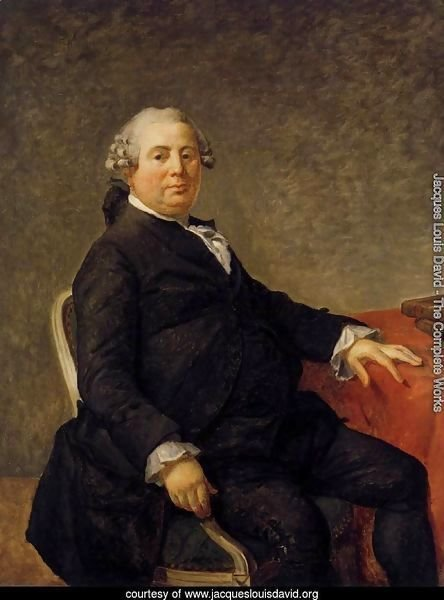 Portrait of Philippe-Laurent de Joubert c. 1786