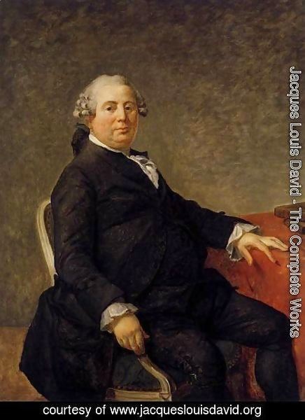 Jacques Louis David - Portrait of Philippe-Laurent de Joubert c. 1786