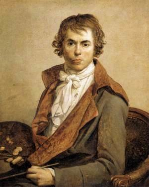 Jacques Louis David - Portrait of the Artist 1794