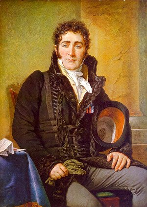 Jacques Louis David - Portrait of the Count de Turenne 1816