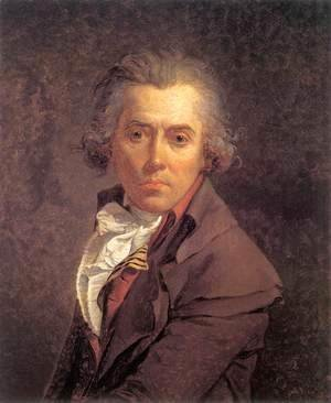 Jacques Louis David - Self-Portrait 1791