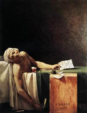 The Death of Marat 1793