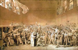 Jacques Louis David - Tennis Court Oath